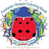 Funtastic Shapes Colouring Book