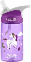 CamelBak Eddy Kids - drinkfles - 400 ml - Paars (Winter Unicorns)