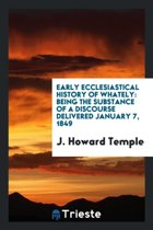Early Ecclesiastical History of Whately