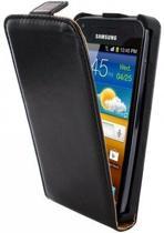 Mobiparts Classic Flip Case Samsung Galaxy S Advance Black