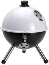 BBQ - Houtskoolbarbecue - Balmodel - Wit