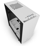 NZXT S340 Elite Midi-Toren Wit computerbehuizing