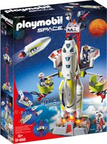 PLAYMOBIL Mars-raket met lanceerplatform - 9488