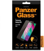 PanzerGlass Case Friendly Screenprotector voor de Samsung Galaxy A40 - Zwart