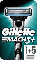 Gillette Mach3 - Razor + 5 scheermesjes - Promopack