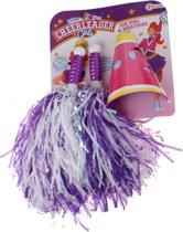 Toi-toys Cheerleaderset Meisjes Paars 3-delig