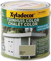 Xyladecor Tuinhuis Color - Houtbeits - Olijfboom - Mat - 2,5L