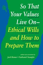 So That Your Values Live On