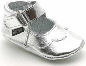 Baby Paws babyslofjes Cindy Zilver maat 4 = ( 12,7 cm)