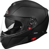 SMK Systeemhelm Glide Matt Black-L
