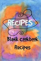 Blank Recipes Book, My Recipes & Notes, Recipe Journal, My Favorite Recipes Coo