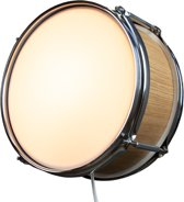 Berben Design Houten Drum Wandlamp - Eiken