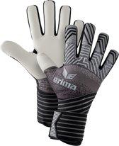 Erima Keepershandschoenen - Maat 8.5  - Unisex - Zwart-grijs-wit