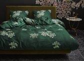 Essenza Home dekbedovertrek Lauren green - extra kussensloop (60x70 cm)