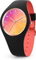 Ice-Watch ICE duo chic IW016977 horloge - Siliconen - Zwart - Ø 34 mm