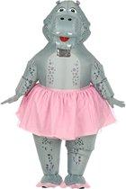 Nijlpaard ballerina kostuum voor volwassenen - Volwassenen kostuums