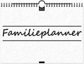 Familieplanner | Kalender | 52 weken | Inclusief motiverende spreuken | A4