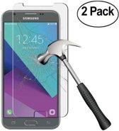 2 pack - Samsung Galaxy J3 2017 Glazen tempered glass / screen protector  2.5D 9H (0.3mm)
