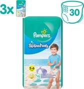 Pampers Splashers Wegwerpbare Zwemluiers - Maat 5-6 - 3x10 - Voordeelverpakking