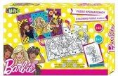 Mattel 2-zijdige Puzzel Barbie 24 Stukjes