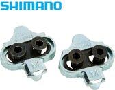 Shimano SPD plaatjes SM-SH56 schoenplaatjes - Multi release SPD cleats - MTB / Trekking / Spinning - Zilver