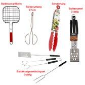 Barbecue grillklem - Barbecue Serveertang - Barbecuetang - Barbecueset - Barbecuegereedschapset