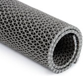PVC antislipmat grijs voor zwembaden en douches 1000x120cm