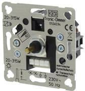Smartwares S2 Inbouw Dimmer - Drukwissel - Tronic - 315W - Element