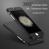 iPhone 6 360 Graden Hoesje (zwart)