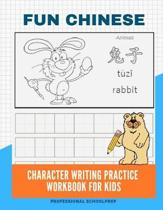 Fun Chinese Character Writing Practice Workbook for Kids