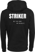 FC Eleven - Striker Hoodie – Zwart – XXL