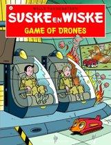 Omslag van 'Suske en Wiske 337 - Game of drones'