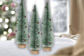 Kerstboom mini 35cm groen | set van 3 stuks