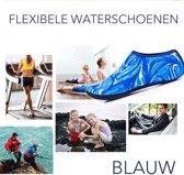 Erg conforatabele en flexibele Waterschoenen voor Dames en Heren Outdoor Strand Zwemmen Aqua Sokken Sneldrogende Blootsvoets Schoenen Surfen Yoga Zwembad  - Blauw - maat  XL 42-43