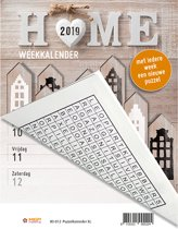 Weekkalender - Puzzelkalender XL MGP 2019 - Omlegkalender - 1 week/1 pagina