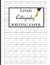 Lined Calligraphy Writing Paper: Calligraphy Practice Journal For Beginners, Slanted Calligraphy Paper, 150 pages