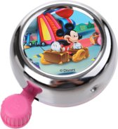 Widek Chroom - Fietsbel - Mickey Mouse - Roze