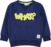 Name it Jongens Sweatshirt - Blue Depths - Maat 92