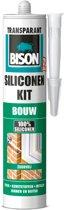 Bison Siliconenkit Bouw Transparant - 300 ml