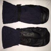 Wanten / Handschoenen leger nieuw blauw zwart maat 9