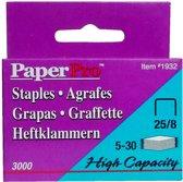 Paper Pro Nietjes - 25/8 - 3000 stuks- Hoge kwaliteit gegalvaniseerd