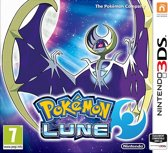 Nintendo Pokémon Lune Fan Edition, 3DS Steelbook Nintendo 3DS Engels, Frans video-game