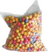 1000 gekleurde bollen voor blaaspijp - Feestdecoratievoorwerp