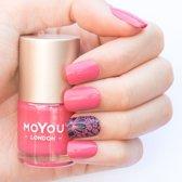 MoYou London Stempel Nagellak - Stamping Nail Polish 9ml. - Bubblegum