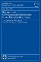 Regionen Mit Gesetzgebungskompetenzen in Der Europaischen Union