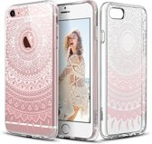 Hoesje voor Apple iPhone 6 / 6s - Siliconen Transparant Soft Gel TPU Hoesje voor Apple iPhone 6 met Mandala Patroon Dromenvanger, iPhone 6 Cover Case Hoesje Transparant Dreamcatcher