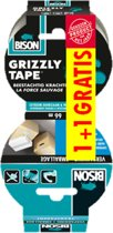 BISON GRIZZLY TAPE + GRATIS VERPAKINGSTAPEROL ROL 10M