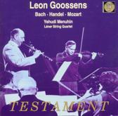 Leon Goossens - Bach, Handel, Mozart / Menuhin, et al