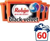 Robijn Wasmiddel 3-in-1 Capsules Black Velvet 4x15