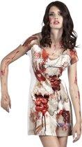 3 stuks: Fotorealistische jurk - Zombie Bruid - Small